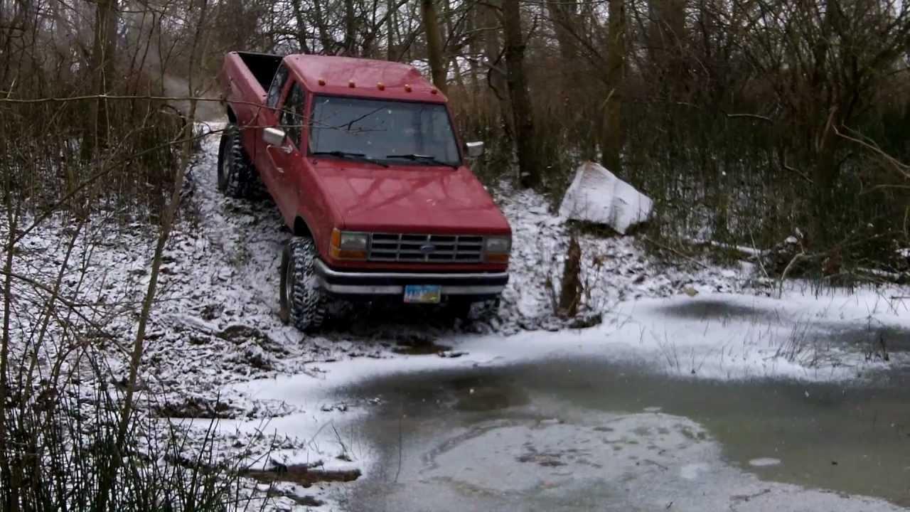 1990 ford ranger 4.0L 4x4 - YouTube