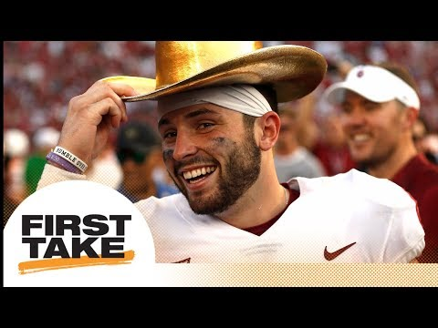 Tim Tebow picks Baker Mayfield to win 2017 Heisman Trophy | First Take | ESPN