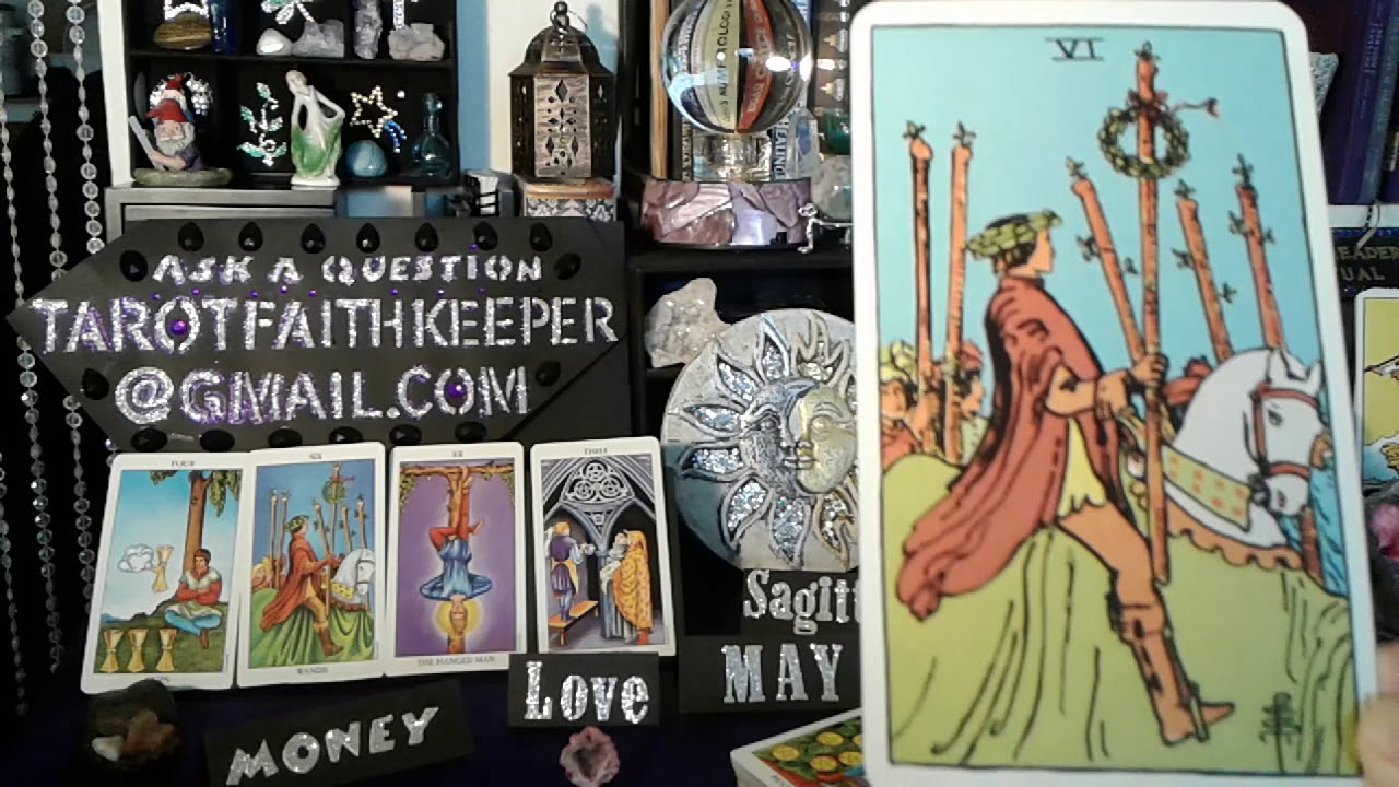 Sagittarius May 13 to 19th Patience SUCCESS Predictive tarot card reading fortune How to read cards