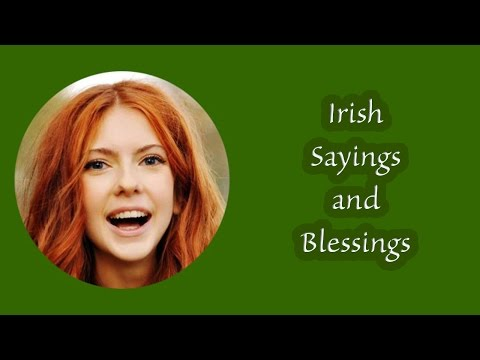 Irish Sayings: Beautiful Photos and Music of Ireland with Irish Sayings, Quotations and Blessings.
