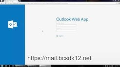 How to Log in to Outlook Email
