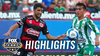 Tijuana vs. Leon | 2018-19 Liga MX Highlights