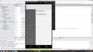 Xamarin Android Tutorial   27   Creating a Right and Left Drawer Layout