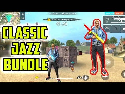 Classic Jazz Bundle Review And Gameplay | Garena Free Fire