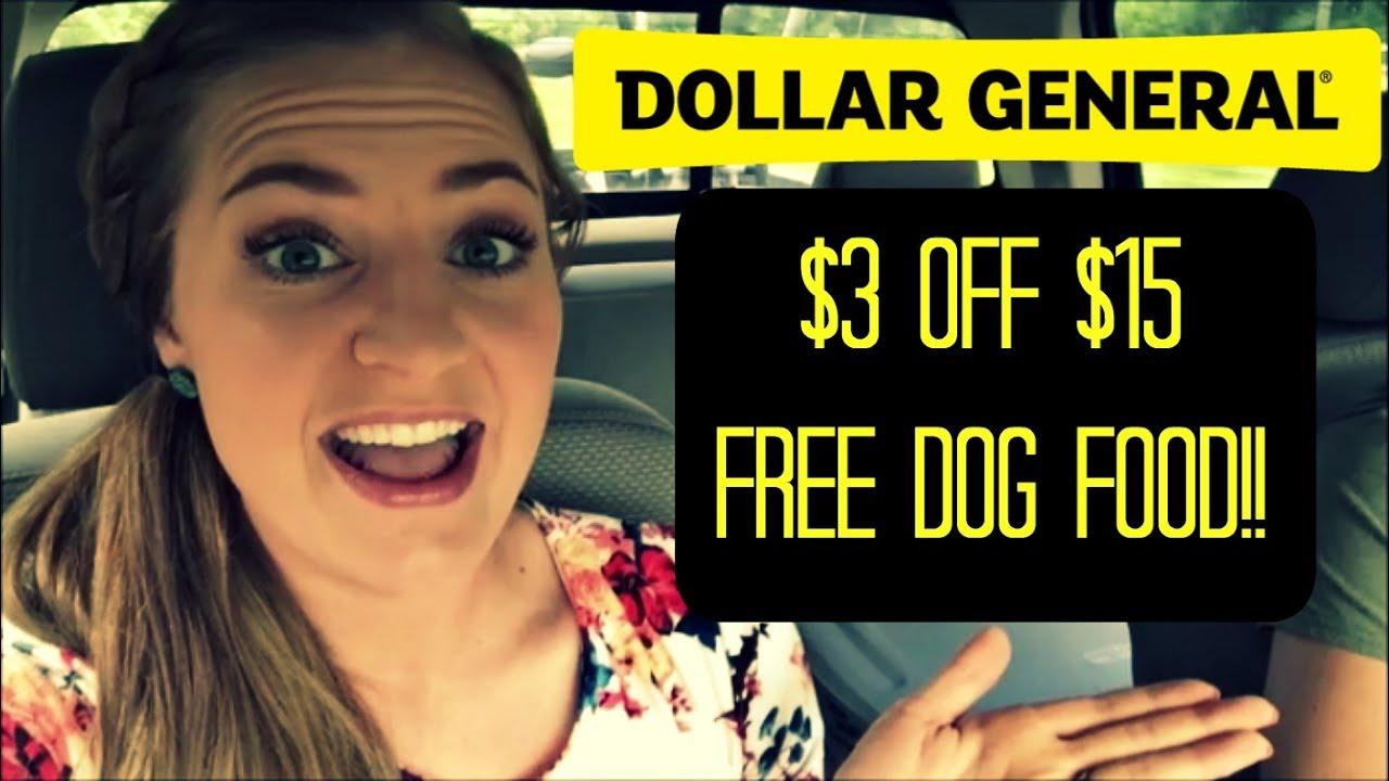 dollar general 3 off 15 free rachael ray dog food