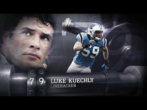 #79 Luke Kuechly  (LB, Panthers)   Top 100 Players of 2013   NFL