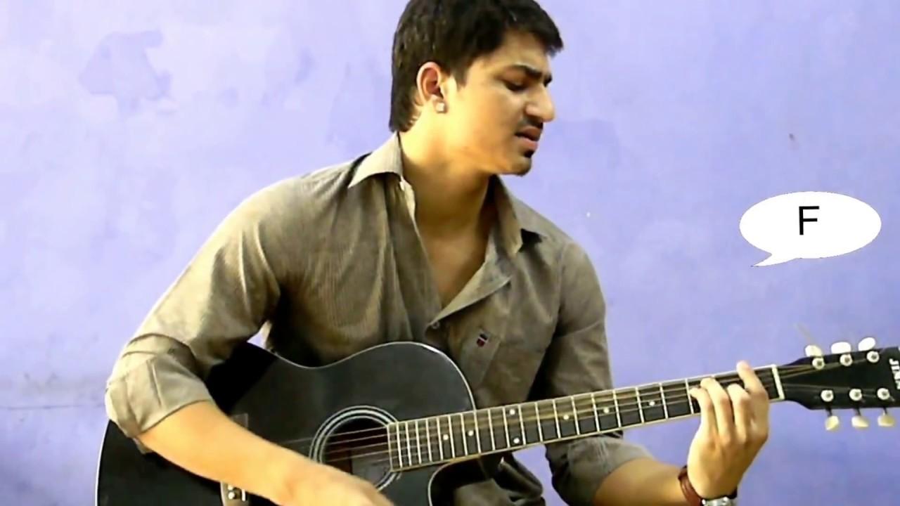 Tum ho paas mere rockstar guitar chords youtube tum ho paas mere rockstar guitar chords hexwebz Images