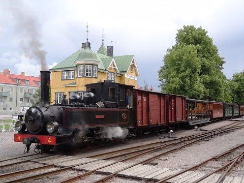 Railway Östra Södermanlands Järnväg - Stockholm Sweden 2012