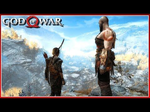 God Of War Walkthrough Gameplay Part 2 - The Path To The Mountain (God of War 4)