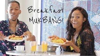 Breakfast MUKBANG + The 1st Day We Met | PETITE-SUE DIVINITII