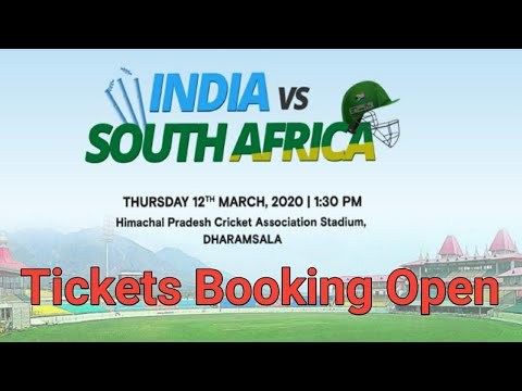How To Book India Vs South Africa ODI Series Cricket Match Ticket Online, Ind Vs SA 1ST Match Ticket