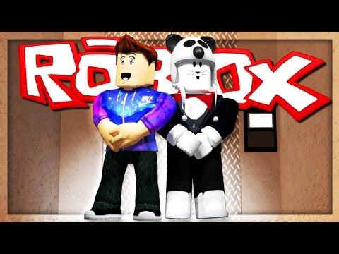 STUCK IN A ROBLOX ELEVATOR! w/OLI! | Roblox