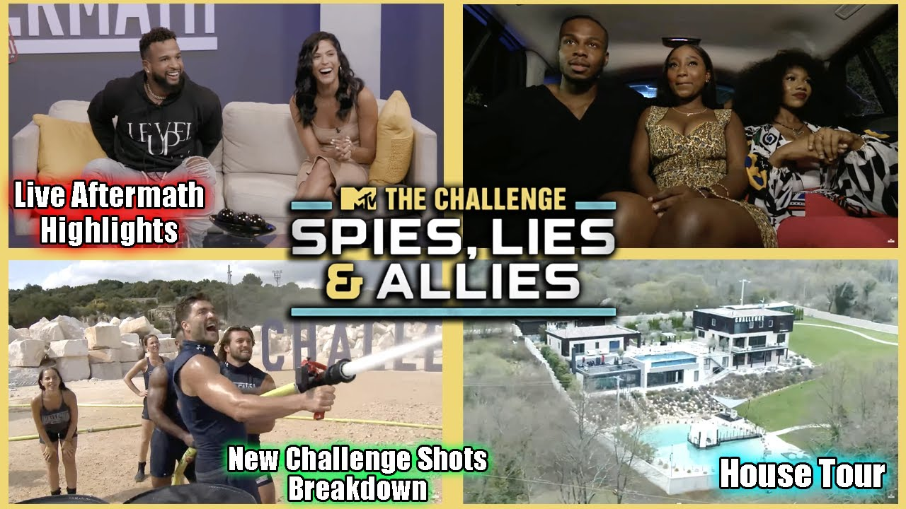 The Challenge 37: Live Aftermath Highlights, House Tour, & New Challenge Shots Breakdowns