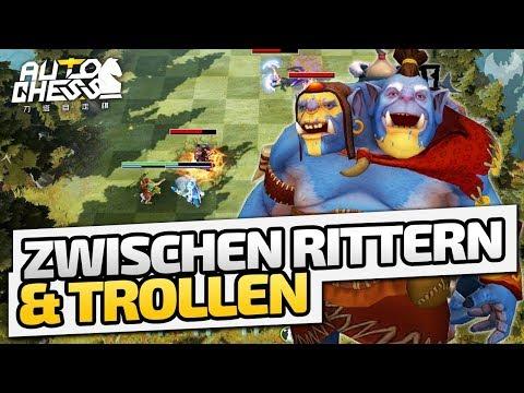 Zwischen Rittern & Trollen - ♠ Dota 2 Auto Chess ♠ - Deutsch German - Dhalucard