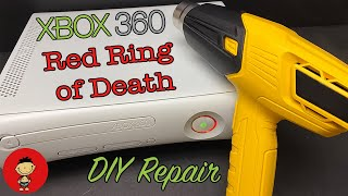 Xbox 360 Red Ring of Death - DIY GPU Reflow