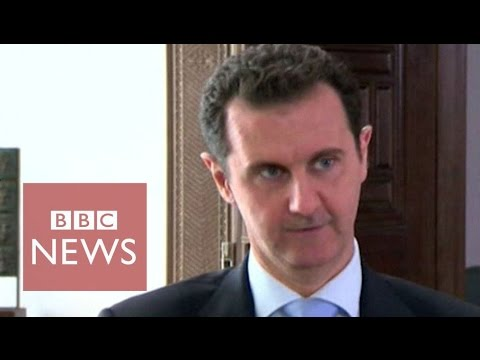 'IS shrinking since Russian strikes' says Bashar Al Assad - BBC News