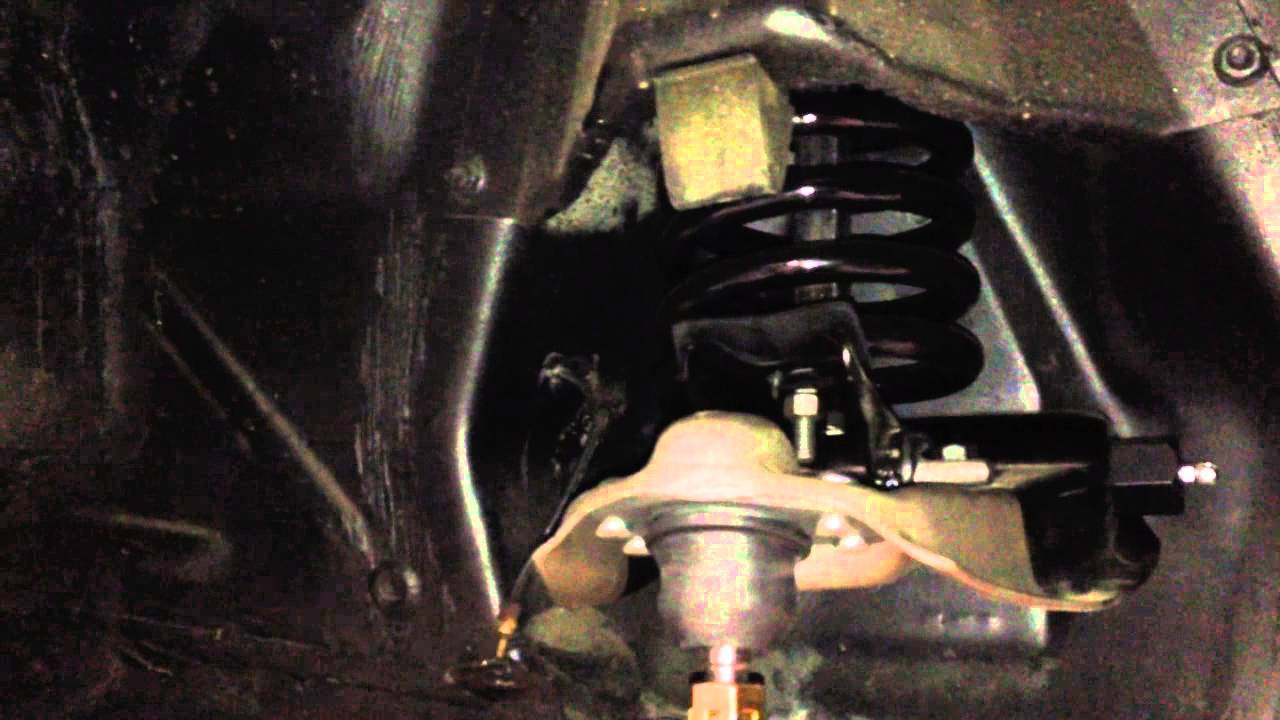Ford Mustang Fastback >> Front Spring installation Curtis' 1966 Mustang Fastback ...