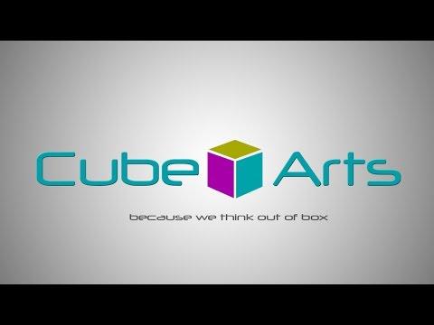 Photoshop Tutorial | 3D logo Cube