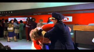 Airplane! (1980) Rex Kramer Taking Out The Missionaries (Forward And Reverse!)