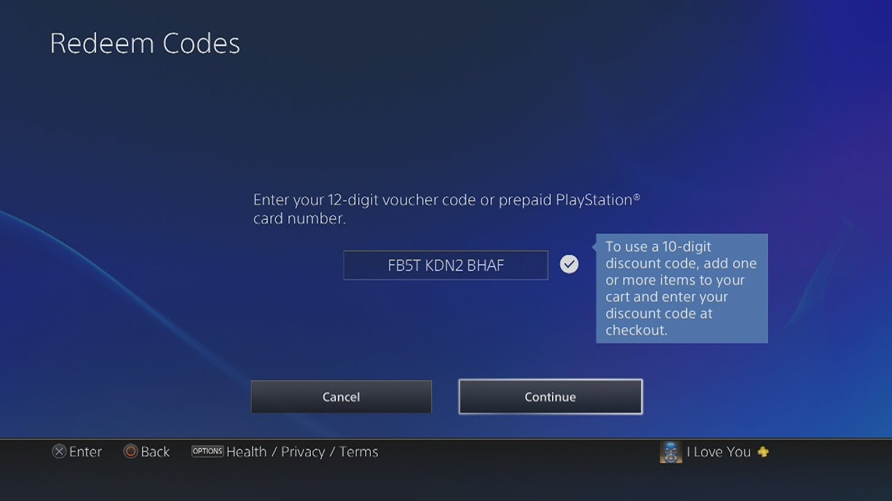 How To Redeem A Psn Ps Plus Code On Ps4 Youtube