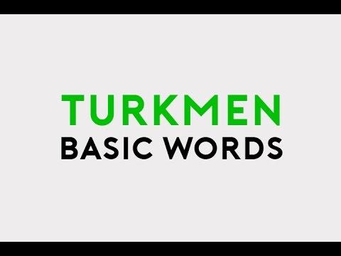 TURKMEN 20 BASIC WORDS | TÄZE NESIL