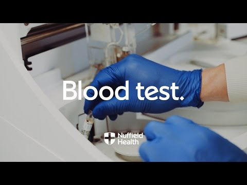 Blood Test Procedure | Nuffield Health