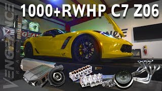 1000+ RWHP C7 Z06 (ProCharger Conversion) Vengeance Racing