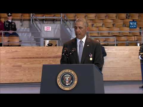 President Obama Participates in the Armed Forces Full Honor Review Farewell Ceremony