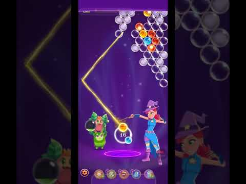 Bubble Witch 3 Saga Level 1263 ~ No Boosters