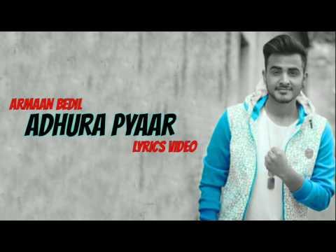 Adhura Pyaar Lyrics || Armaan bedil Nd Sara Gurpal || Jassa jatt official || HD 2k17