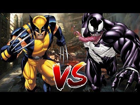 Wolverine VS Venom   Who Wins?