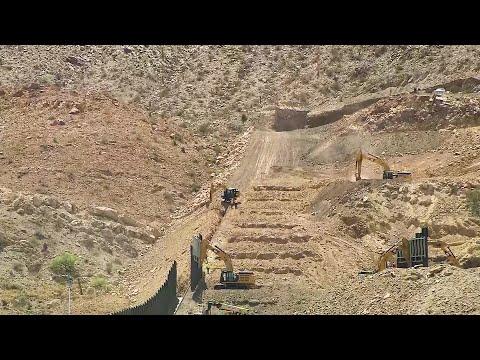 Border Wall Construction Along US/Mexico Border
