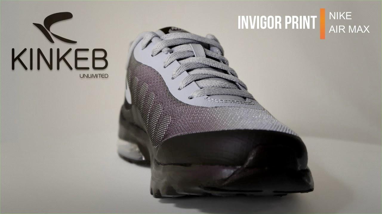 f36e0b4b12 NIKE AIR MAX INVIGOR PRINT - YouTube