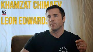Is Leon Edwards right about <b>Khamzat Chimaev</b>?