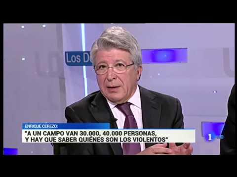 Enrique Cerezo sobre los VIOLENTOS del Fútbol