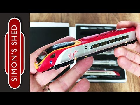 Revolution Trains Pendolino unboxing – n gauge model trains