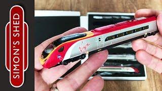 Revolution Trains Pendolino unboxing - n gauge model trains