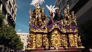 """Domingo de Ramos, Jesus Despojado, """"Pasa la Virgen del Refugio"""" (HD)"""