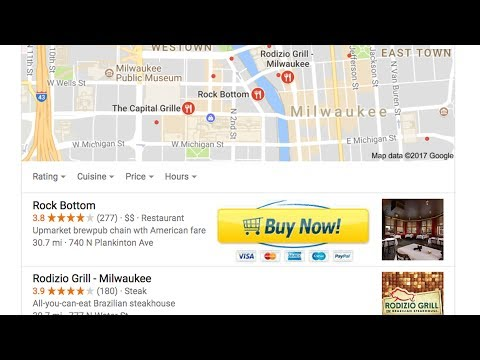 Add Buy Buttons To Google Maps: New Google My Business Posts Feature!