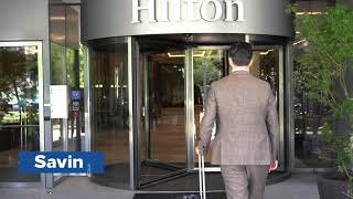 Digital Key Experience at Hilton Vienna Park