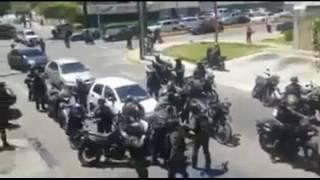 Manifestante es arrollado por camion que perseguía la Gnb