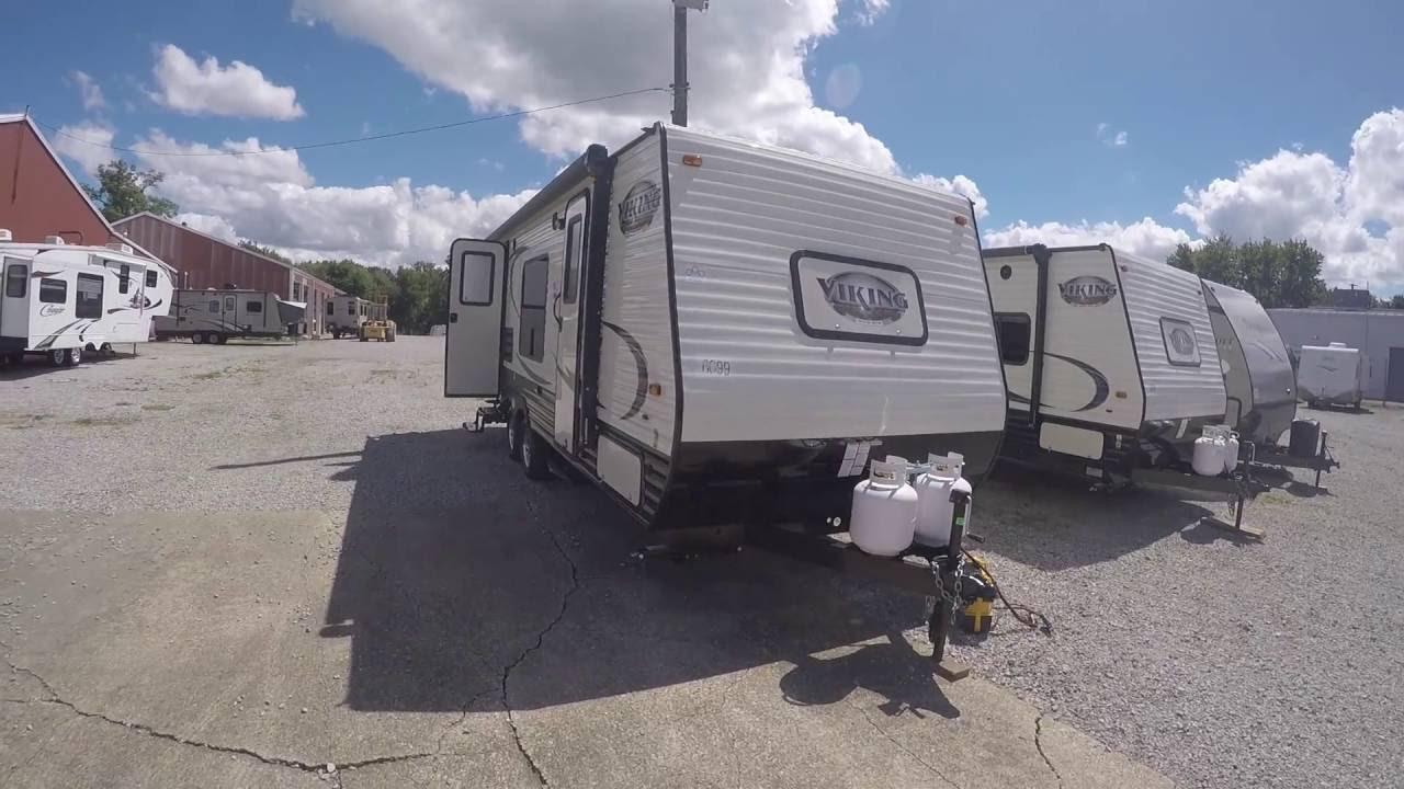 2017 Coachmen Viking 21FQ Travel Trailer Video - YouTube on camper seats, camper door handle, camper antenna, camper accessories, camper transformer, camper strut, camper battery box, camper wiring cable, camper mirrors, camper water pump, camper cover, camper taillight wiring,