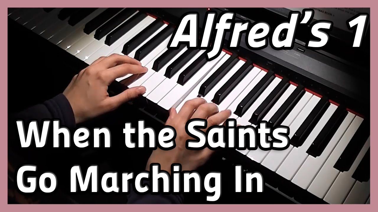 how to play the ants go marching on piano