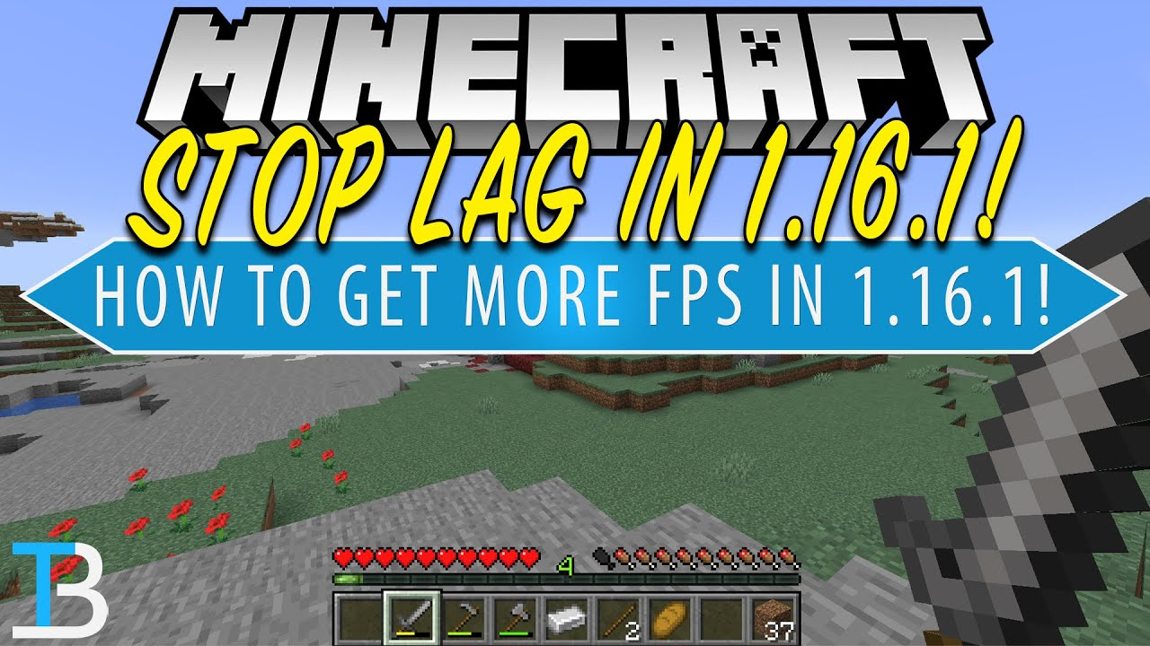 How To Make Minecraft 1 16 1 Run Fast With No Lag Make Minecraft Run Faster Youtube