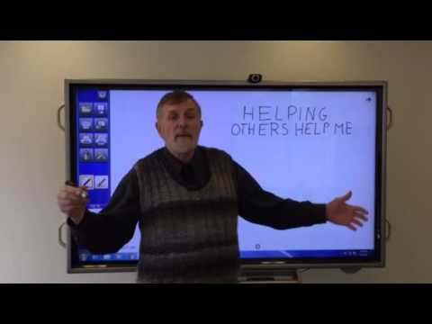 VIDEO#6: HELPING OTHERS HELP YOU