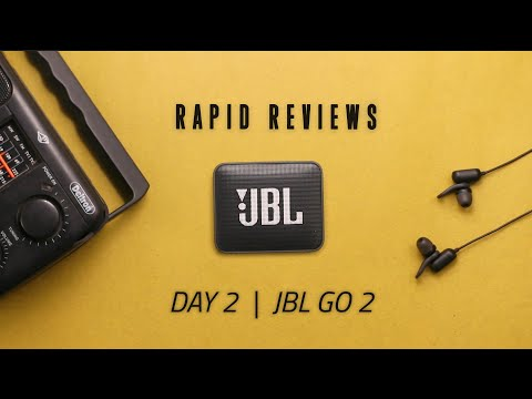 JBL GO 2 // Rapid Review - Day 2/7