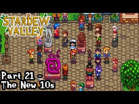 e6d6fca01a5982 Stardew Valley  Part 21 - The New 10s  - YouTube