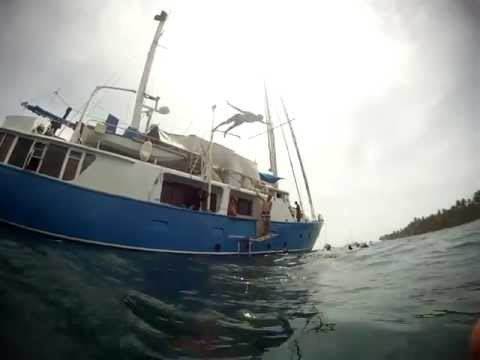 Sailing the San Blas Islands of Panama to Cartagena, Colombia aboard MS Independence Yacht
