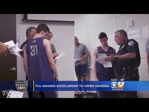 JT - College Basketball Player Surprised by a Cop