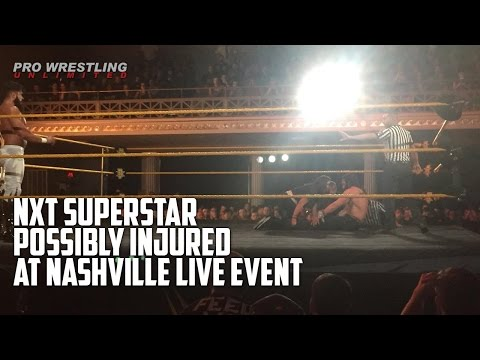 MAJOR NEWS: NXT Superstar Possibly Injured At Nashville Live Event